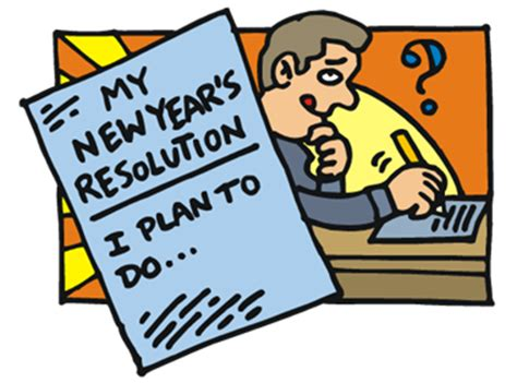 Essay about new years resolution